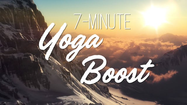 7-Minute Yoga Boost