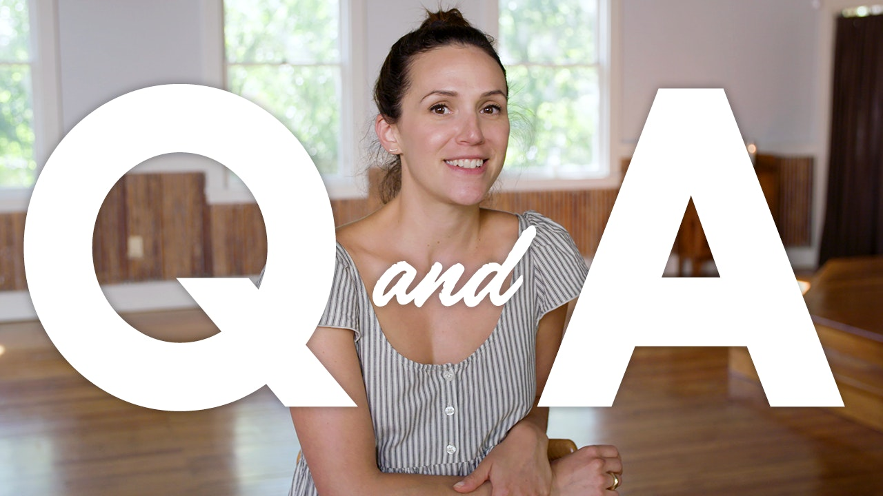 Q & A with Adriene
