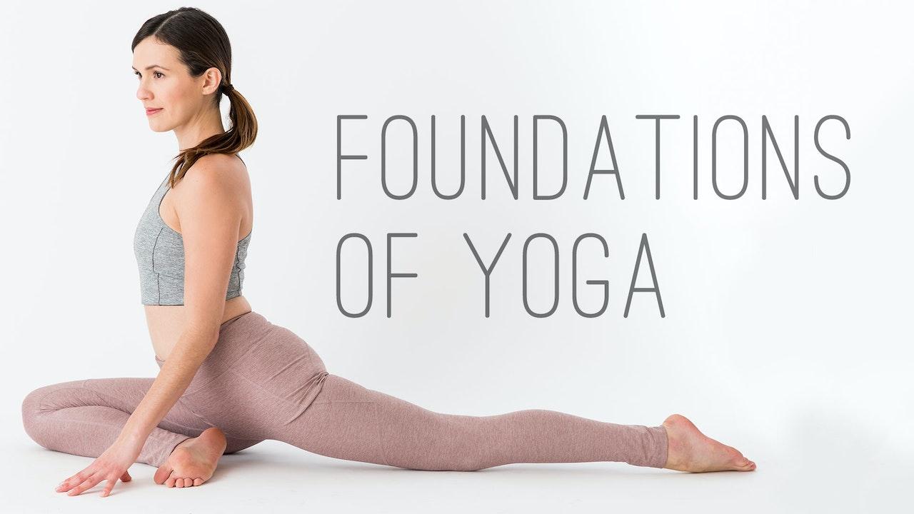 Foundations of Yoga Blurred