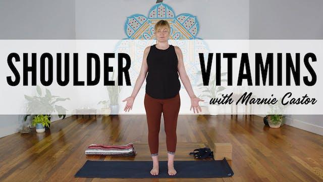 Shoulder Vitamins with Marnie Castor ...