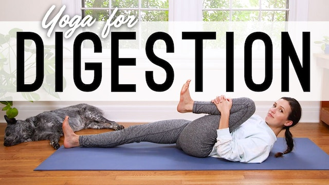Yoga For Digestion (13 min.)