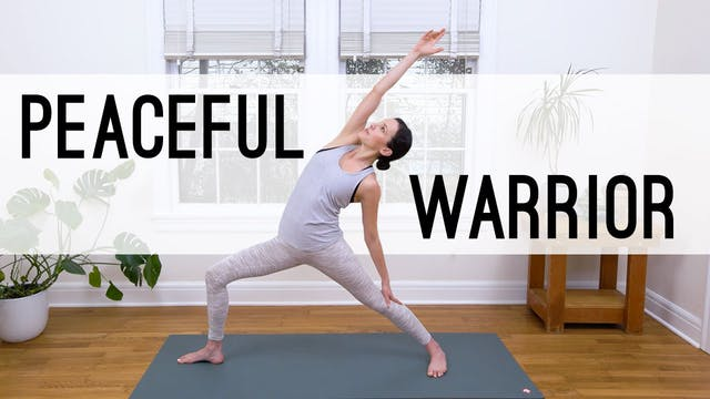 Peaceful Warrior Yoga (27 min.)