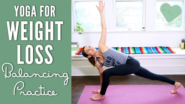 Yoga for Weight Loss - Balance Practice