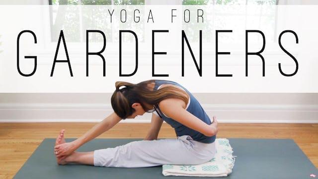 Yoga For Gardeners (32 min.)