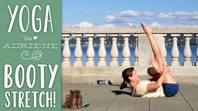Travel Yoga - Seattle - Booty Stretch (3 min.)