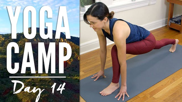 Yoga Camp - Day 14 - I go with the flow