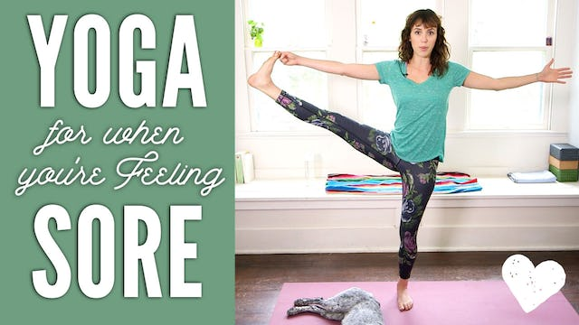 Yoga For When You're Sore