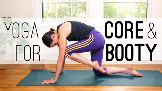 Yoga For Core (and Booty!) (28 min.)
