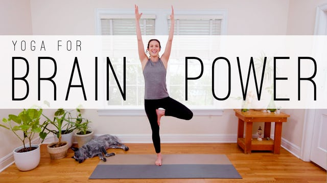 12 Min Yoga For Brain Power