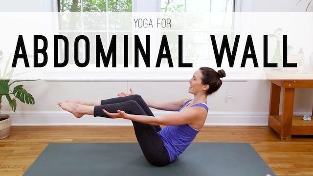 Yoga For Abdominal Wall (14 min.)