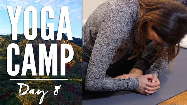 Yoga Camp - Day 8