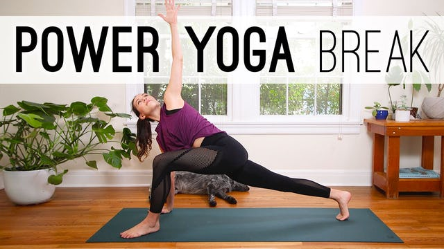 Power Yoga Break 17 Min