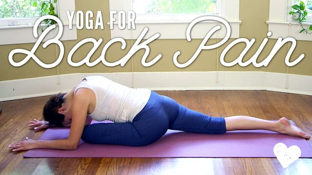 Yoga For Back Pain - Basics