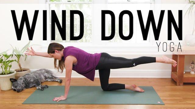 Wind Down Yoga (25 min.)