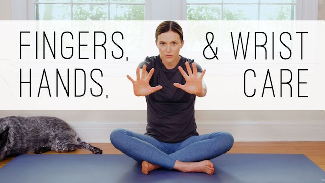 11 Minute Yoga Quickie - Hands, Fingers, Wrists
