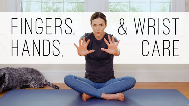 11 Minute Yoga Quickie - Hands, Finge...