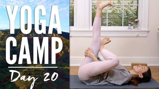 Yoga Camp - Day 20 - I am worthy