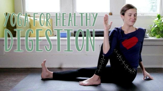Yoga For Healthy Digestion