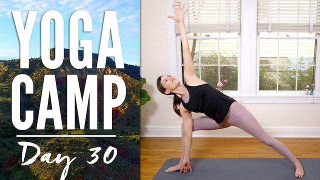 Yoga Camp - Day 30