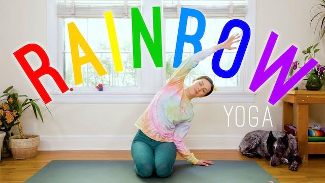 Rainbow Yoga For All Ages! (16 min.)