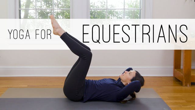 Yoga For Equestrians (33 min.)