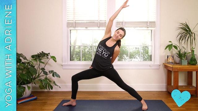 Compassion Yoga - Core Strength Vinyasa (58 min.)