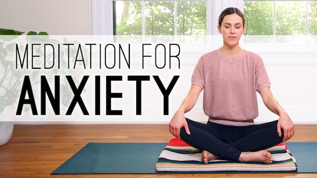 Meditation For Anxiety (14 min.)