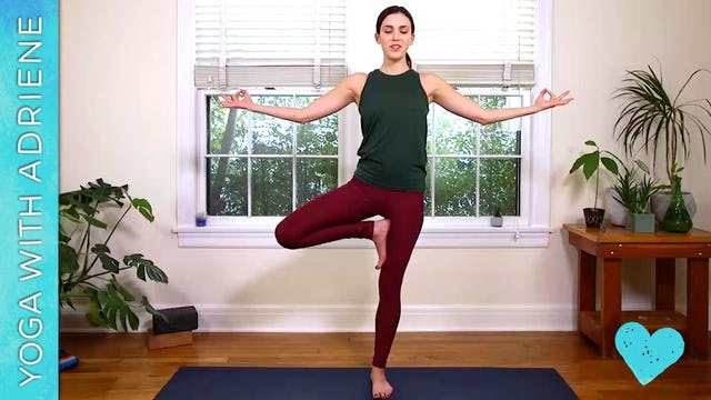 7-Minute Yoga For Stress Relief
