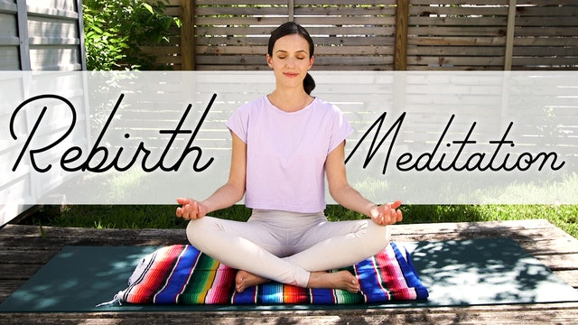 REBIRTH MEDITATION with Adriene & Benji (10 min.)