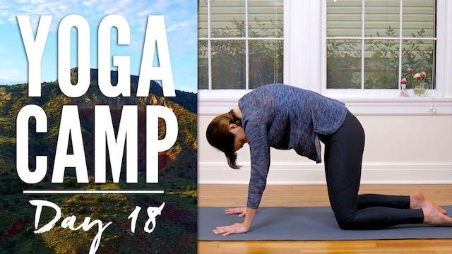 Yoga Camp - Day 18 - I surrender (30 ...