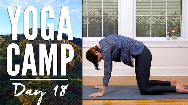 Yoga Camp - Day 18