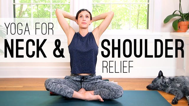 Yoga For Neck and Shoulder Relief (17...