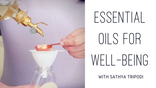 Essential Oils For Well Being