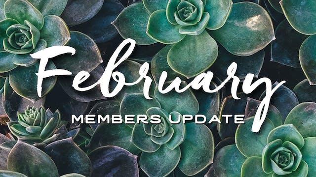 Members Update - February 2016