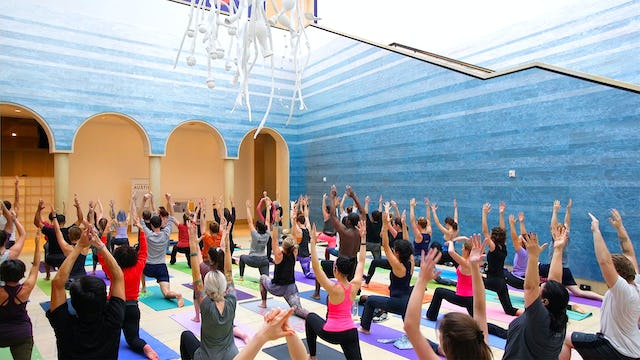 Yoga at the Blanton Museum - Austin, TX (78 min.)