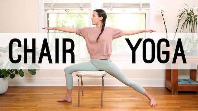Chair Yoga (17 min.)
