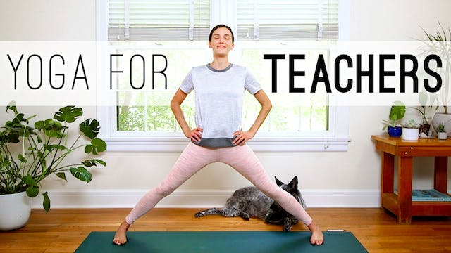 Yoga For Teachers (30 min.)