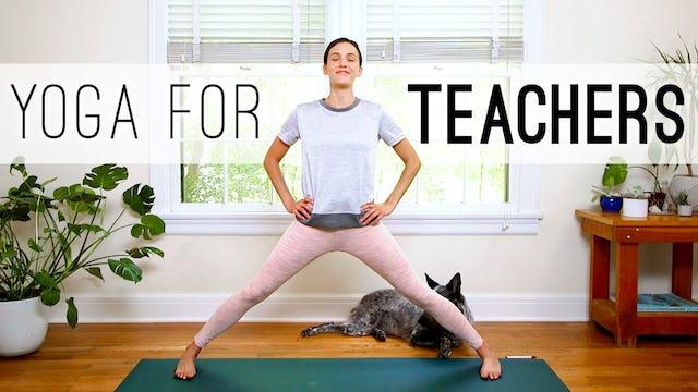 Yoga For Teachers (30 min.)