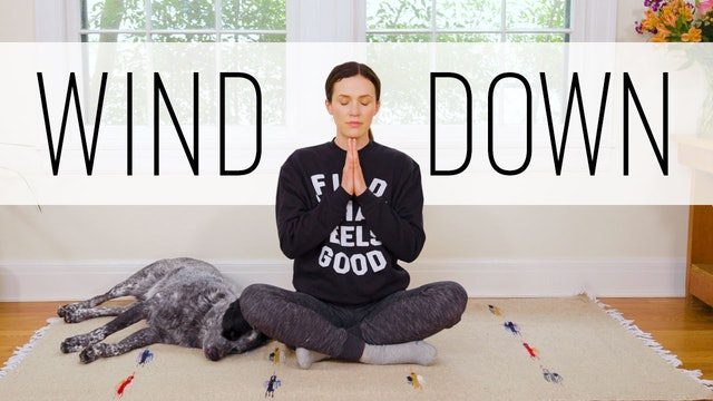 12 Minute Wind Down Yoga