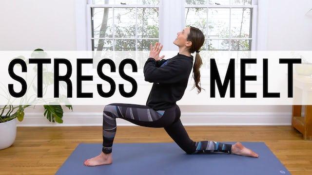 Stress Melt - 26 Min Yoga Break