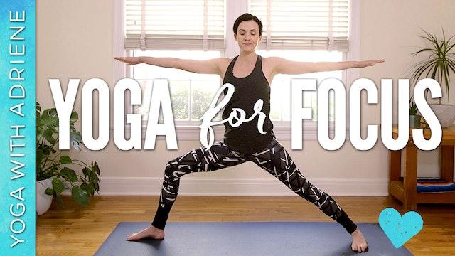 Yoga For Focus & Productivity (9 min.)