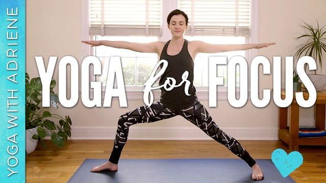 Yoga For Focus & Productivity
