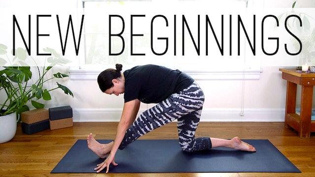 Yoga for New Beginnings (18 min.)