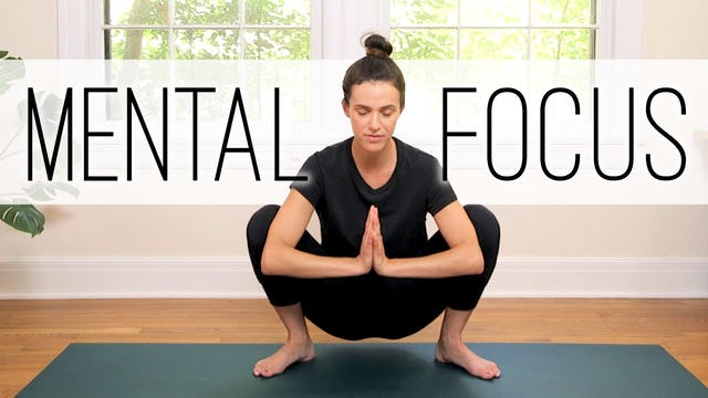 Yoga For Concentration and Mental Focus (26 min.)