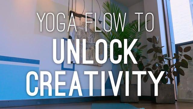 Yoga Flow To Unlock Creativity (27 min.)
