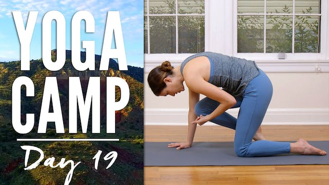 Yoga Camp - Day 19 - I respect