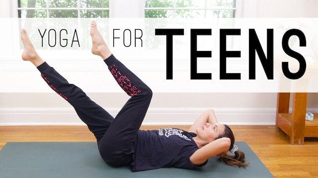 Yoga For Teens (20 min.)