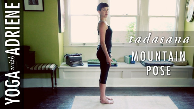 Mountain Pose (Tadasana)