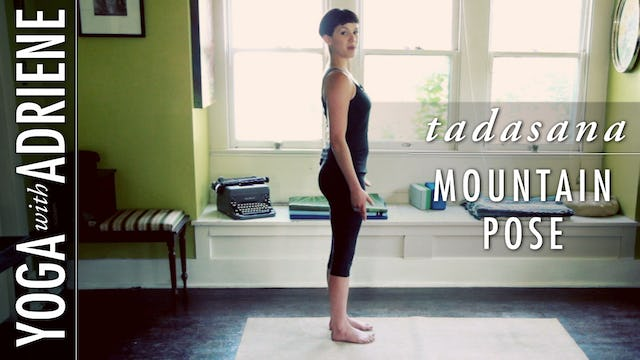 Mountain Pose (Tadasana)