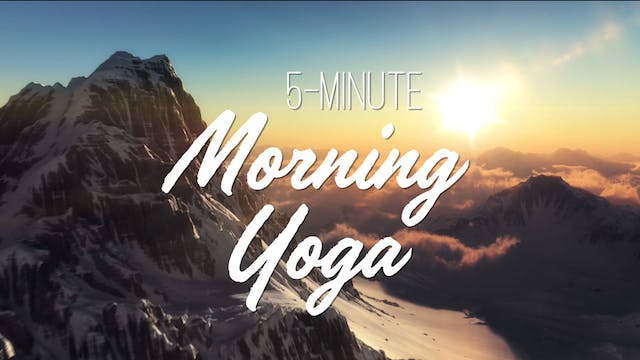 5-Minute Morning Yoga